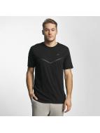 Nike t-shirt NSW TB Tech zwart