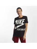 Nike t-shirt NSW zwart