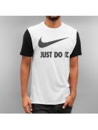 Nike T-shirtar NSW Hrngbn JDI Swoosh vit
