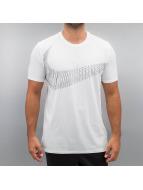Nike T-Shirts Swoosh Tri-Flow Training beyaz
