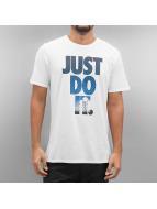 Nike T-Shirts NSW Just Do It Photo beyaz