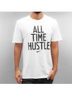 Nike T-Shirts NSW All Time Hustle beyaz