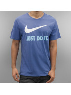 Nike T-Shirts New JDI Swoosh mavi