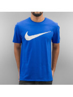 Nike T-Shirts Hangtag Swoosh mavi