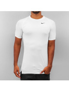 Nike T-Shirty Pro Cool Compression bialy