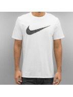 Nike T-Shirty Hangtag Swoosh bialy