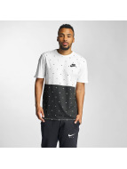 Nike T-Shirty NSW Polka Dot bialy