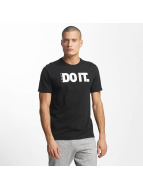Nike T-Shirty NSW Verbiage 2 czarny