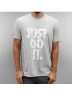Nike T-skjorter Dry Just Do It Grind grå
