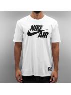 Nike T-skjorter Air 5 hvit