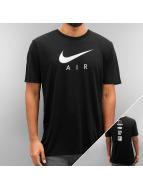 Nike T-skjorter NSW TB Air Hybrid Totem svart