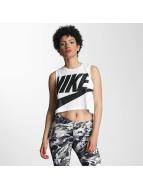 Nike Tank Tops Sportswear Essential bianco