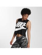 Nike Tank Tops Sportswear Essential nero