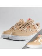 Nike Air Force 1 07' LV8 Sneakers Bio Beige/Bio Beige/Orange Quartz