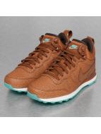Nike Tennarit Internationalist Mid Leather ruskea