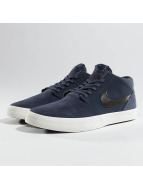 Nike SB Solarsoft Portmore ll Mid Skateboarding Sneaker Thunder Blue/Black/Summit White