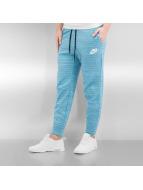 Nike tepláky W NSW  AV15 modrá