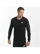 Nike Tričká dlhý rukáv Sportswear èierna