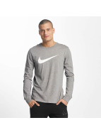 Nike Tričká dlhý rukáv Icon Swoosh šedá