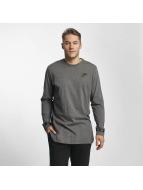 Nike Tričká dlhý rukáv NSW šedá