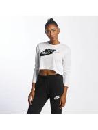 Nike Tričká dlhý rukáv HBR biela