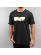 Nike F.C. Foil T-Shirt Black/Yellow Foil/Black