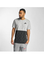 Nike NSW Polka Dot T-Shirt Dark Grey Heather/Black