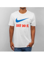 Nike New JDI Swoosh T-Shirt White/Team Orange/Team Royal
