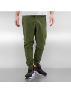 Nike Tygbyxor Sportswear Bonded grön