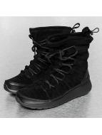Nike Vapaa-ajan kengät Roshe One High Suede musta