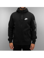 Nike Vetoketjuhupparit NSW GX SWSH Fleece musta