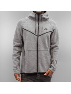 Nike Zip Hoodie Sportswear Tech Fleece šedá