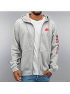 Nike Zip Hoodie NSW GX SWSH Fleece grau