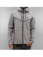 Nike Zip Hoodie Sportswear Tech Fleece gri