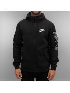 Nike Zip Hoodie NSW GX SWSH Fleece svart