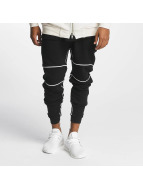 Nobody Berlin Спортивные брюки Piping черный