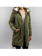 Noisy May Пальто nmSky зеленый