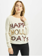 Noisy May Пуловер NMBElly бежевый