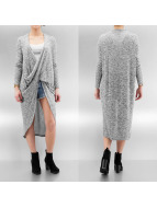 Noisy May Cardigan nmBroke Drape gray