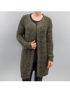 Noisy May Cardigan nmViggo Long Open Knit olive