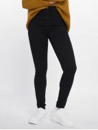 Noisy May Jeans de cintura alta nmEllaSuper High Waist negro