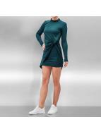 Noisy May jurk nmWalsh High Neck Mine Drape groen