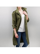 Noisy May Parka NMLuxury olijfgroen