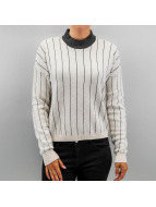 Noisy May Pullover nmTune High Neck Knit weiß