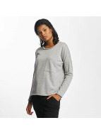 Noisy May nmChristian Longsleeve Light Grey Melange