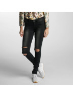 Noisy May Slim Fit Jeans nmEve Super Slim svart