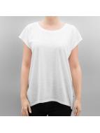 Noisy May T-shirt nmMathilde Loose Long bianco