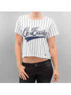 Noisy May T-Shirt nmStar Cropped blanc