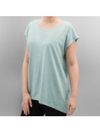 Noisy May T-Shirt Mathilde Loose Long bleu