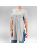 Noisy May T-Shirt nmBarb grau